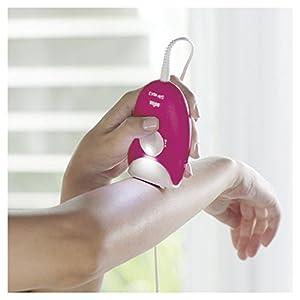 Braun Silk-Epil 3 3-410 Epilators for Women, Raspberry Corded Epilator with 3 Extras, Pink