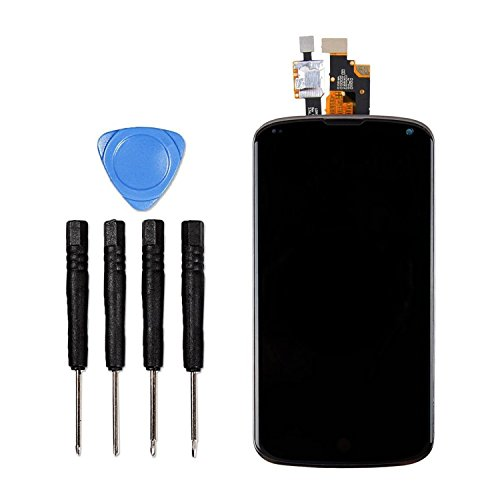 LL TRADER for LG Optimus E960 Google Nexus 4 LCD Display Touch Screen Glass Digitizer Assembly Repair Replacement