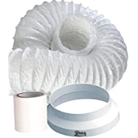 HDIUK 3m portable Air Conditioner venting duct hose extension kit.