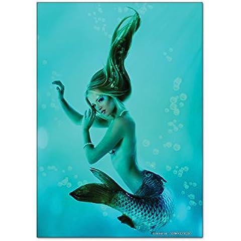 Magneti Calamite frigorifero Fantasy Sirena