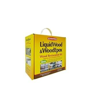 Wrk4qkr 4qt Wood Restoration Kit by Abatron