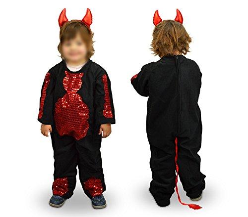Imagen de 368745 disfraz de carnaval motivo diabla 3 a 11 años  6/8 años