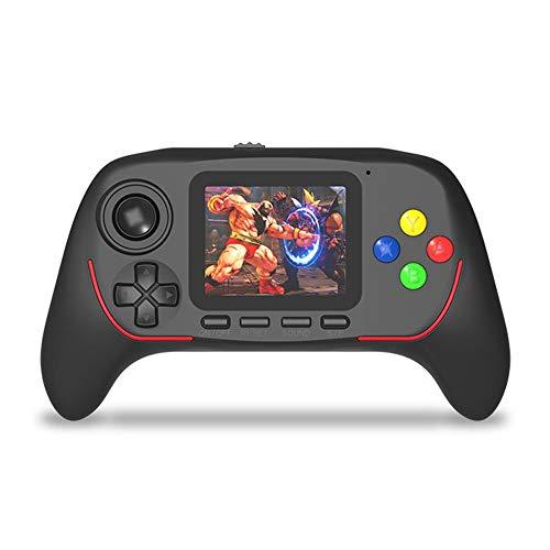 SXPC Spielkonsole Handheld-Spiel Kinder Spielzeug 16-Bit-Joystick Griff HD elektronisches Handheld-Spiel,Black