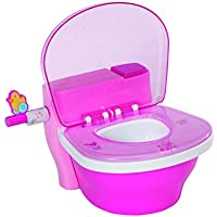 Zapf Creation 819890 - Baby Born Interactive Star, toilette interattiva e divertente per bambole