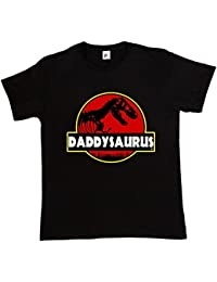 Fancy A Snuggle Daddysauras Dad Fathers Day T-Rex Old Dinosaur Mens T-Shirt