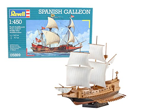 Revell Spanish Galleon, Kit de Modelo, 1: 450 Escala, (05899), Multicolor