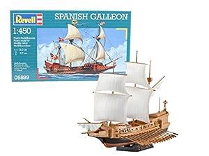 Revell Spanish Galleon, Kit de Modelo, 1: 450 Escala, (05899), Multicolor