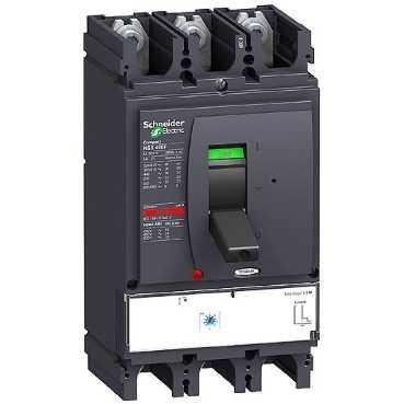 SCHNEIDER ELEC PBT - PAC 20 04 - INTERRUPTOR COMPACT NSX400H 1 3-M 320A 3 POLOS 3R