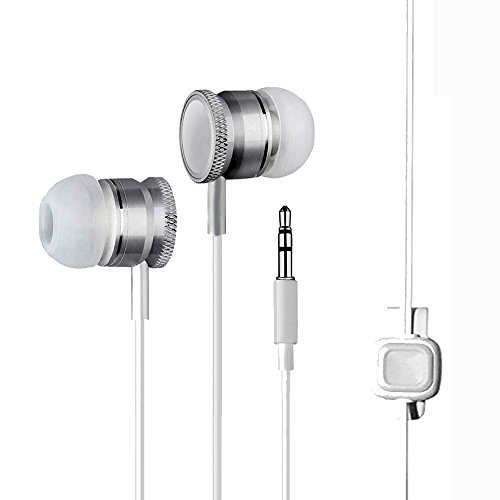 Philips S308 Compatible Wired Headphone/Earphone (white) In-ear Volume Controller and Music Controller for all Smartphones by aurra  available at amazon for Rs.169