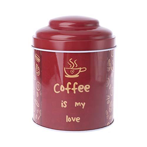 Runde Süßigkeiten Schmuckstück Zinn Schmuck Kerze Eisen Box Tee Kaffee Münze Aufbewahrungsbox Fall Hochzeit Favor Geschenke Style-3 ()