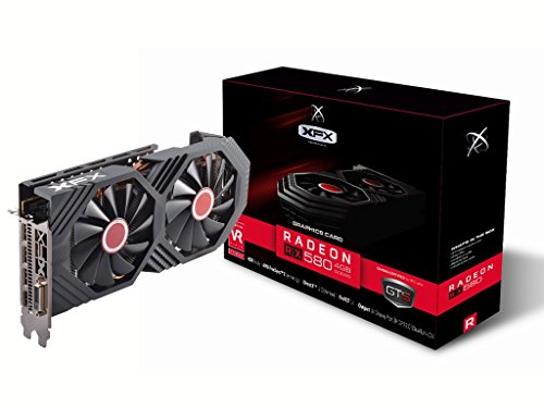 Galleria fotografica XFX rx-580p4ddd6scheda grafica AMD Radeon RX 5801366MHz 4GB PCI Express 3.0