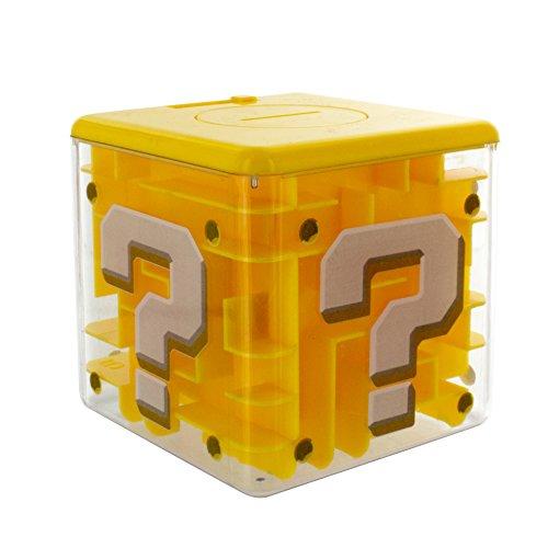 Paladone pp4019nn Super Frage Block Labyrinth Safe mit 3D Mario Figur -