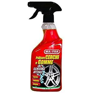 Mafra, Felgen- und Reifenreiniger, reinigt und entfettet Autoreifen, mit oder ohne Schaum verwendbar, Menge 500ml
