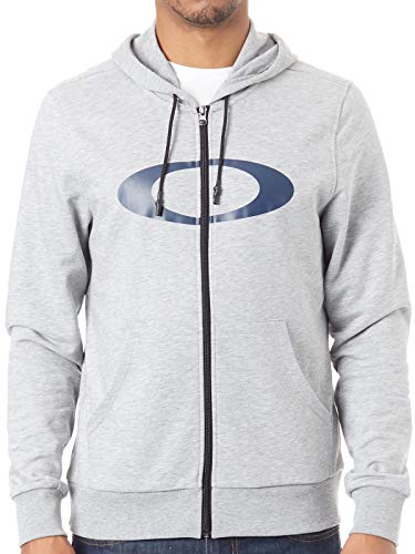 Oakley Sudadera con Cremallera Ellipse Granite Heather