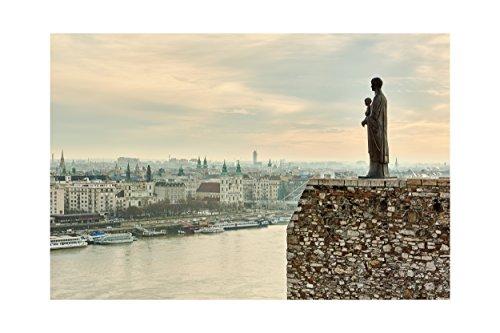 Impresión fotográfica del amanecer en Budapest