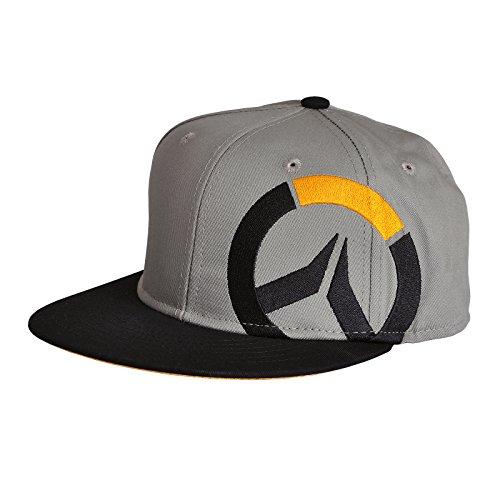 Overwatch Logo Snapback Cap gris/negro
