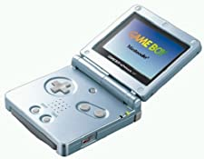 Gameboy Advance SP Konsole Arctic Blue