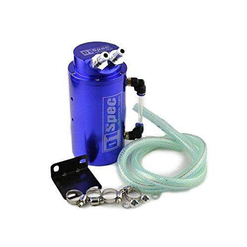 Schalter Spec (Wooya Universal Auto Zubehör D1 Spec Racing Oil Catch Aluminium Tankdose-Blau)