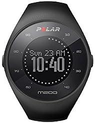 Polar M200 Laufuhr, Farbe: Schwarz, Armbandgröße: S/M
