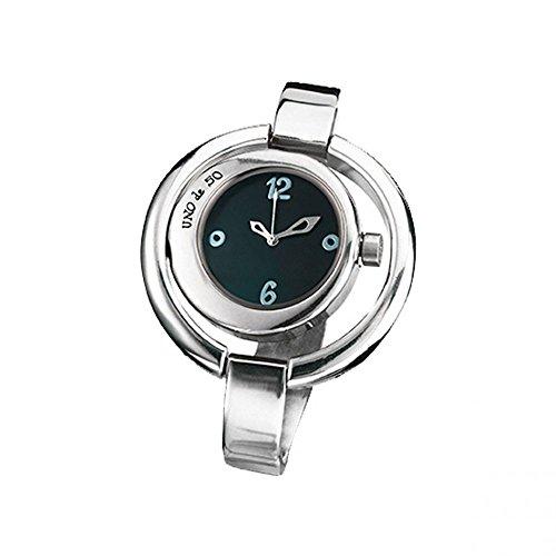 Uno de 50 REL0138MGRMTL0U Ahora O Nunca Reloj Mujer Baño Plata Cuarzo Tamaño 44 mm