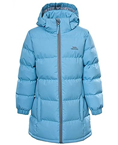 Trespass Girls Tiffy School Jacket | Coat (3-4 Years, Sky Blue)