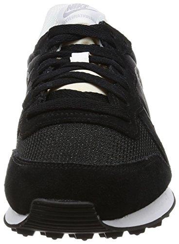 Nike Internationalist, Scarpe da Corsa Uomo Nero (Black/Mtlc Silver/White/Flt Silver)