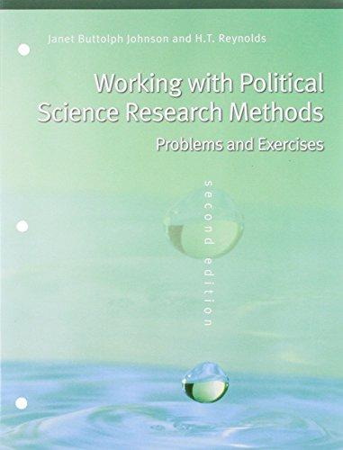 Political Science Research Methods, 6th Edition + Working with Political Science Research Methods, 2nd Edition (Methods: Problems and Exercise)