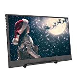 Bewinner 11.6in Tragbarer Monitor-Gaming-Monitor IPS-PRO 1080P LED-Monitor für HDMI / PS3 / Xbox / PS4 HD-LED-Anzeige für Spiele, Büro, Zuhause, Auto-Video-Display