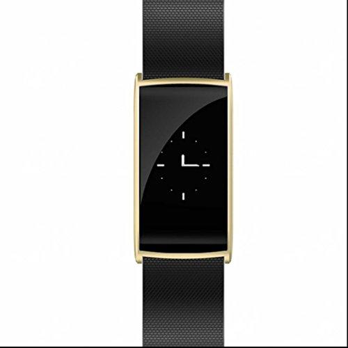 Fitness Armbanduhr Activity Tracker Sport Bracelet gebogene Oberfläche Leben wasserdicht Schlaftracker Bequem und praktisch mit Distanz Datum und Uhrzeit Aktivitätstracker für Android und IOS