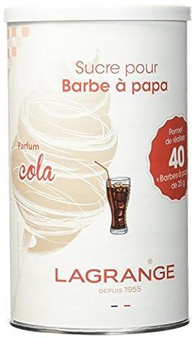 Lagrange 380005 Sucre spécial Barbe à Papa 1kg Cola