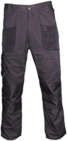 Blackrock 7640634 - Los Hombres De Workman Corto Plancha - Negro, 34 Pulgadas