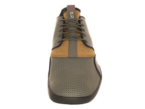 Nike Jordan Eclipse Ltr, Chaussures de Sport Homme, Taille Gris / beige / noir (gris mélangé / cinabre (cinnabar) - doré mat - anthracite)
