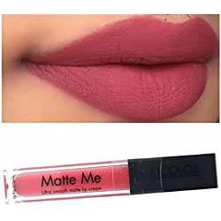 INCOLOR Matte Me Ultra Smooth Lip Cream (Nude) - 6 Ml