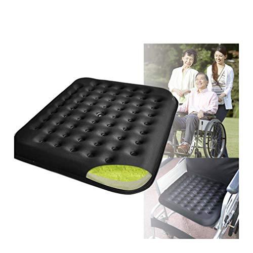 HRRH Orthopädische Gelkissen Speicher, Rollstuhl Anti-Dekubitus Kissen Orthopädische Gel Verbessert Komfort-Schaumstoff-Sitzkissen, Orthopädische Sitzkissen (Antriebs-gel-kissen)