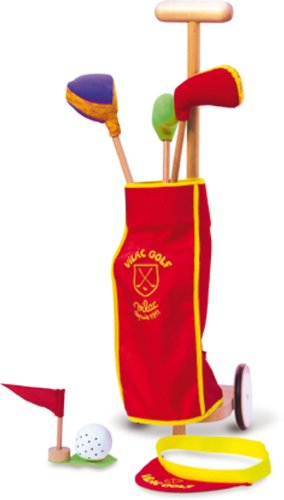 Vilac - 2656 - Giocattolo, Set da golf per bambini