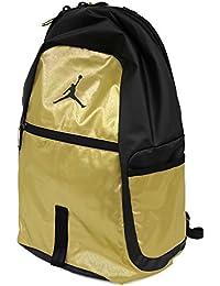 746f54656463e5 Nike Air Jordan Jumpman Reflector All World Bookbag Sports Laptop Student  Backpack (Metallic Gold)