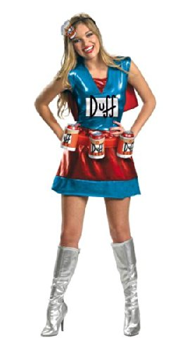 Costumes For All Occasions DG27896N Simpsons Duffwoman Deluxe 4-6