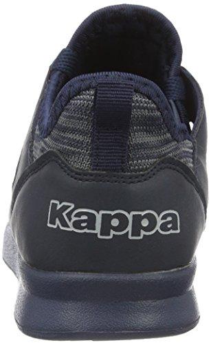 Kappa Around, Scarpe da Ginnastica Basse Unisex-Adulto Blu (6767 Navy)
