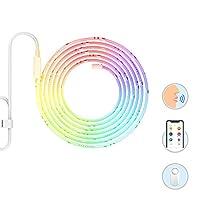 Yeelight Smart LED lamba şerit Plus, Wi-Fi ışık, çok renkli, Dimmerbar, 2m, 3, 5m, 8M, uzun 10m ile uyumlu, Amazon Alexa çıkarılabilir ve Google Home, çok renkli, Hauptteil