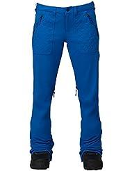 Burton Pantalón de snowboard vida Pant, otoño/invierno, mujer, color azul aguamarina, tamaño XL