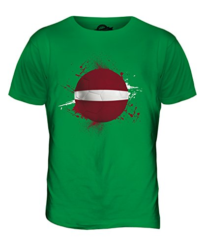 CandyMix Lettland Fußball Herren T Shirt Grün