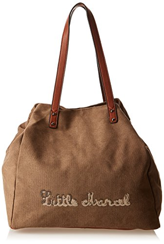 Little Marcel Harmony, Borsa a spalla donna , Marrone (Marrone (Brown)), Taille Unique