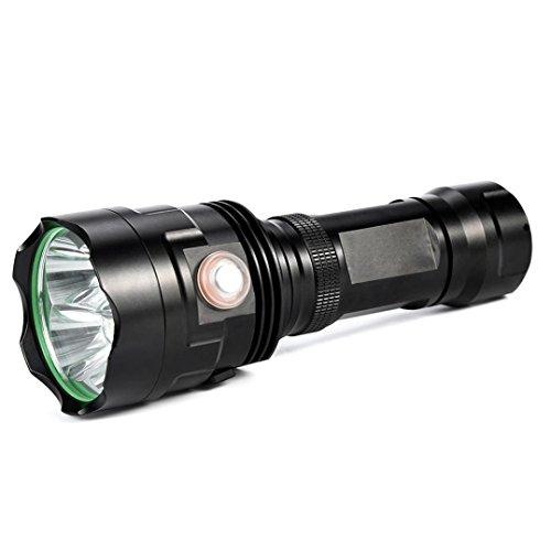 4000 Lumen 5 Modi Wasserdichte Aluminiumlegierung 12x XM-L T6 LED Taschenlampe für den Innen- und Außenbereich