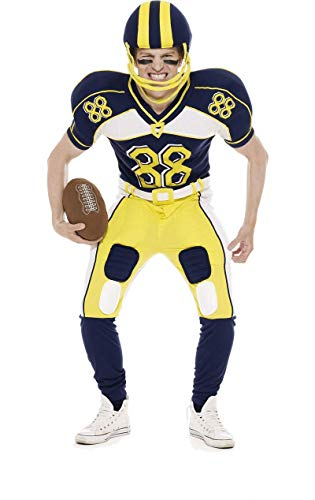 ORION COSTUMES American Football Player Costume (Inc Helmet and Ball)