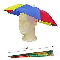 Protéger de la pluie vous lors de votre prochaine journée avec ce parapluie chapeau funky. Fantastique pour les festivals, voyages de pêche ou déguisements amusant. Démarquez-vous de la foule et être le centre d'attention dans ce fantastique chapeau ...