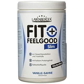 Layenberger Fit+Feelgood Slim Mahlzeitersatz Vanille-Sahne, 3er Pack (3 x 430 g)
