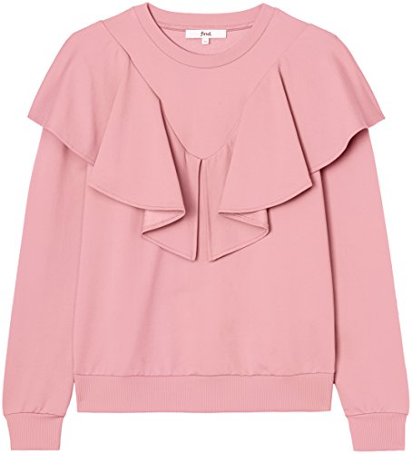 FIND Sweat-Shirt Femme, Rose (Old Rose), 42 (Taille Fabricant: Large)