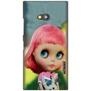 Design Worlds Designer Back Cover for Nokia Lumia 730 - Dolls Cases Cover