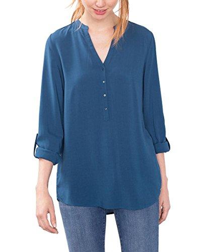 ESPRIT 086EE1F032, Camicia Donna, Blu (PETROL BLUE), 38