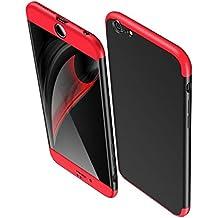 Funda iPhone 6/6S Plus, Vanki® 360 Grados Caso Carcasa Cubierta de lujo 3in1 híbrido la cubierta Anti-Arañazos Anti-Choque de la PC para iPhone 6 Plus/6S Plus